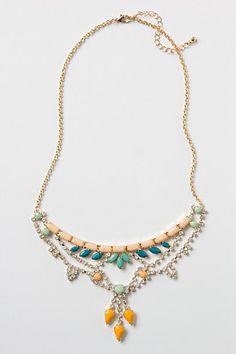 noronha bib necklace / anthropologie