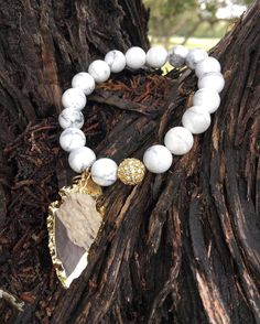 Back in stock y'all! The Jasper Collection Pepper Bracelet is a beauty!