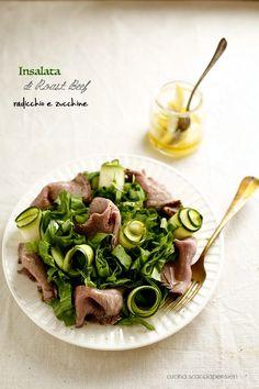 Cucina Scacciapensieri: Insalata di radicchio e roast beef
