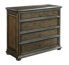 Nail-head trimmed dresser from the Berwick Court collection by Kincaid. New for #hpmkt Spring 2015.