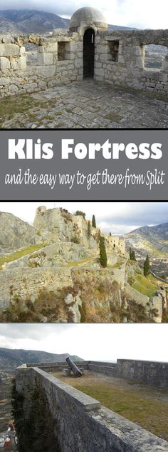 Why you should visit Klis Fortress. And the easy way to get there from Split.   #Klis #Split #gameofthrones
