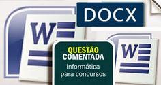 Veon Aprova Logo - Informática para Concursos: Concurso Público - Questão comentada - Word