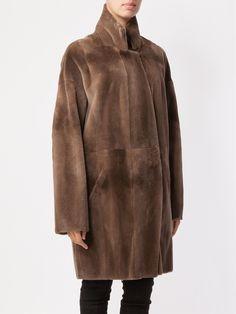 32 Paradis Sprung Frères visone cappotto di pelliccia