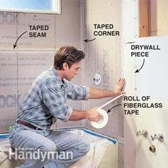How to install cement board for shower