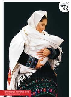 Horný Tisovník, Podpoľanie, Slovakia Folk Costume, Costumes, Folk Embroidery, Mother And Child, Baby Wearing, Head Wraps, The Incredibles, Homeland, People