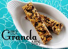 @Brianna PutnamPositively Splendid {Crafts, Sewing, Recipes and Home Decor}: Easy Granola Bar Recipe