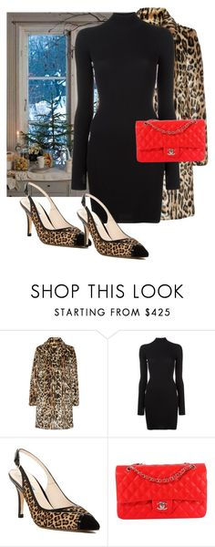 """""""LK Bennett pumps"""" by eledonoghue ❤ liked on Polyvore featuring Alice + Olivia, adidas Originals, L.K.Bennett and Chanel"""