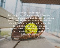 8x10 Softball Poem Softball Print by SportyPrintsbyMBM on Etsy