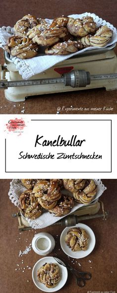 Kanelbullar - Schwedische Zimtschnecken | Backen | Hefeteig | Rezept