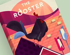 Working On Myself, New Work, Baby Car Seats, Rooster, Behance, Gallery, Children, Check, Illustration
