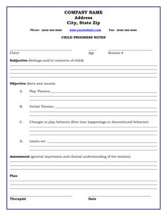 Social work and psychotherapy on pinterest social for Social work case notes template