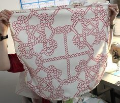 Sewing new cushion covers