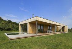 modern rectangular house design simple style
