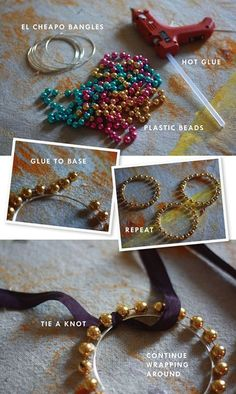 bracelets made with Mardi Gras beads totally doing this before college starts!! Cute Crafts, Bead Crafts, Jewelry Crafts, Handmade Jewelry, Jewelry Party, Jewelry Ideas, Diy Crafts, Mardi Gras Beads, Mardi Gras Party