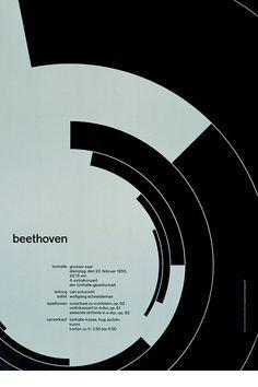 Josef Müller-Brockmann: Beethoven (1955)