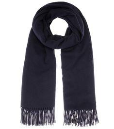Canada navy wool scarf