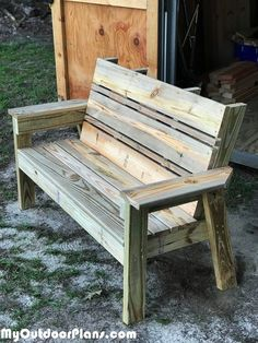 - Building-a-garden-bench - Building-a-garden-bench - Building-a-garden-bench - DIY Simple Bookshelf Plans Diy Pallet Ideas Simply click the link to find out more Pallet Conversions Amazing Pallet Furniture
