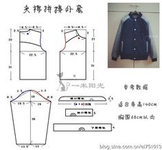 http://blog.sina.com.cn/s/blog_465ce3380102v1sx.html #sewing #patternmaking