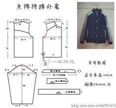 http://blog.sina.com.cn/s/blog_465ce3380102v1sx.html #sewing #patternmaking