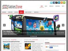 TabletZone Free WordPress Theme