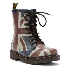 Dr Martens Drench 8-Eye Boot Classic Union Jack Vulcanished Rubber 4 M UK (5-5.5 US Men / 6-6.5 US Women) - http://authenticboots.com/dr-martens-drench-8-eye-boot-classic-union-jack-vulcanished-rubber-4-m-uk-5-5-5-us-men-6-6-5-us-women/