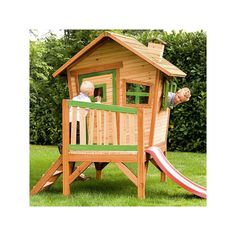 Axi Speelhuisje Robin Outdoor Chairs, Outdoor Furniture, Outdoor Decor, Plexiglass, Robin, Play Houses, Tropical, Park, Toys