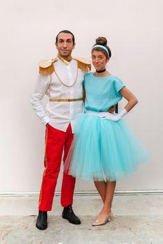 How To Make A Family Cinderella Costume | studiodiy.com Diy Couples Costumes, Easy Halloween Costumes, Halloween Diy, Cinderella Costume, Make A Family, Harajuku, Tulle, Skirts, Fashion