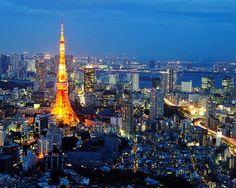 Tokyo, Japan. Sushi and sightseeing nonstop!