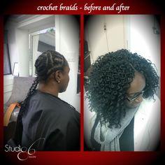 Hot Hair Trend: Crochet Braids Studio86Salon #haircare