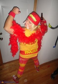 Hulk Hogan - DIY Halloween Costume (When I was a kid Hulk was my favorite)