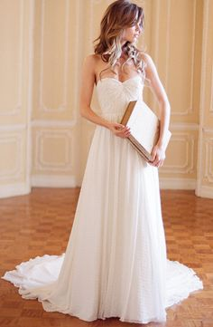 """@Angela Anglin and Aster """"Sweet Pea"""" size 10, Off white $1700 (originally $ 2420) at @Matty Chuah Gown Shop - Ann Arbor 734.834.GOWN (4696)"""