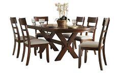 Burkesville Extension Trestle Dining Table