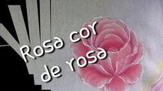 Aprenda de forma fácil como pintar rosa cor de rosa
