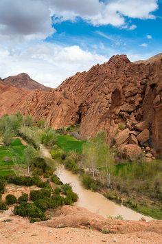 Dades Gorge, Ouarzazate, Morocco