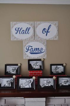 Baseball Party Picture Gallery - Rubi and Lib : Personalized Wedding & Custom Party Supplies - Birthday Party Baseball First Birthday, 1st Boy Birthday, First Birthday Parties, Birthday Party Themes, First Birthdays, Birthday Ideas, Baseball Mom, Baseball Party Themes, Kids Baseball Party