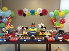 Festa turma do Mickey 8