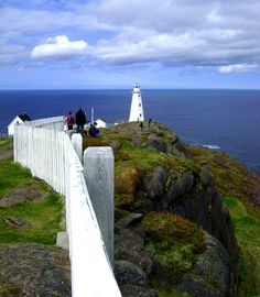 Most eastern point in North America. Cape Spear, Newfoundland Canada
