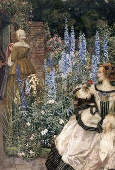 1903. Eleanor Fortescue Brickdale - Pre Raphaelite Art