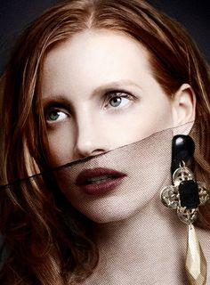 Fashion pictures or video of Jessica Chastain: ASOS Magazine December in the fashion photography channel 'Photo Shoots'. Jessica Chastain, Beautiful Eyes, Most Beautiful Women, Beautiful People, Pretty Eyes, Asos Magazine, Perfect Redhead, Just Jared, Celebrity Portraits