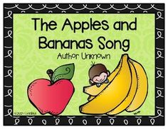 Apples and Bananas with Lyrics Your children will love