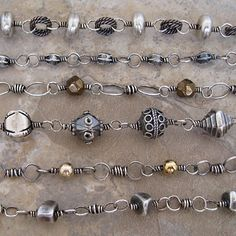 Intestine chains - Mary Newton Designs
