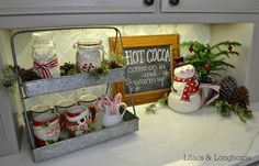 Hot Chocolate Station 2014 | http://www.lilacsandlonghorns.com/hot-chocolate-station-2014.html