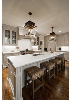 Kitchen design idea - Home and Garden Design Ideas