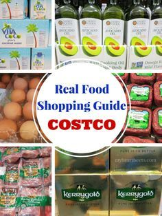 There are plenty of real food options available at Costco - IF you know what to look for. I've put together a Real Food Shopping Guide for Costco so that you can see a list of the things that I buy (or would consider buying) to help you out while you shop.