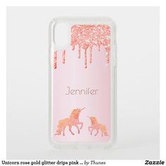 Shop Unicorn rose gold glitter drips pink girly speck iPhone case created by Thunes. Rose Gold Pink, Rose Gold Glitter, Speck Cases, Glitter Phone Cases, Pretty Tough, Drip Painting, Apple Iphone, Unicorn, Christmas Gifts