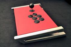 custom full metal arcade stick. €329.00, via Etsy.