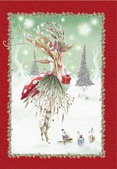 In the he contributed illustrations to monthly magazines. Christmas Fairy, Christmas Scenes, Christmas Love, Christmas Pictures, Winter Christmas, Vintage Christmas, Christmas Crafts, Merry Christmas, Whimsical Christmas