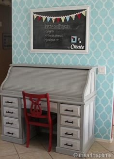 I love this wall... I would love to do one wall in this and all the others in white