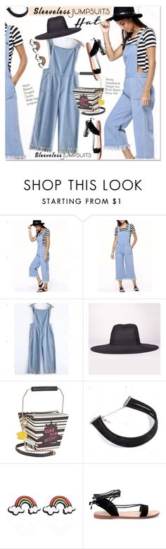 All-in-One: Sleeveless Jumpsuits by paculi on Polyvore featuring Betsey Johnson and sleevelessjumpsuits
