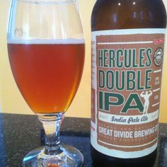 Great Divide Brewing Co. - Hercules Double IPA